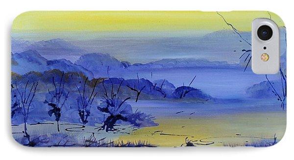 Misty Valley IPhone Case