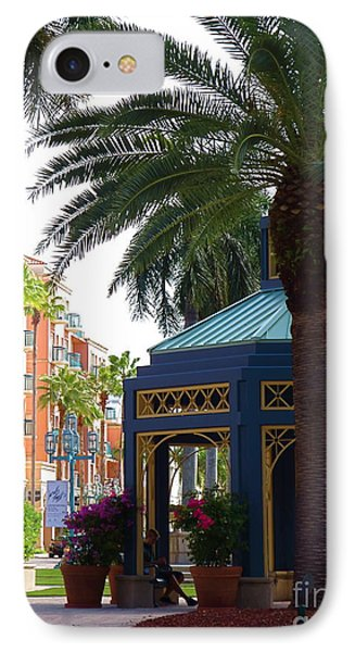 Mizner Park Gazebo Boca Raton Fl IPhone Case