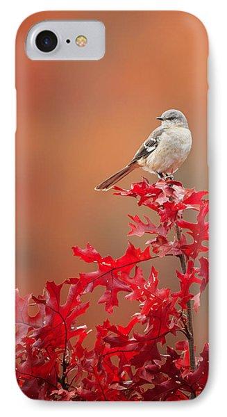 Mockingbird Autumn IPhone Case