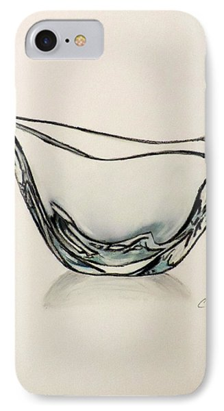 Modern Crystal Bowl IPhone Case