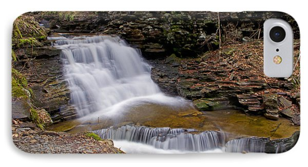 Mohican Falls In Spring IPhone Case