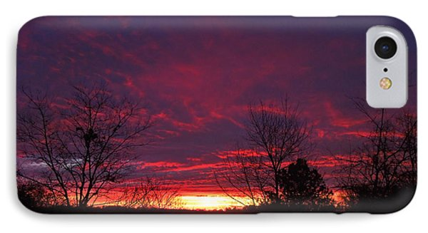 Molten Sunrise IPhone Case