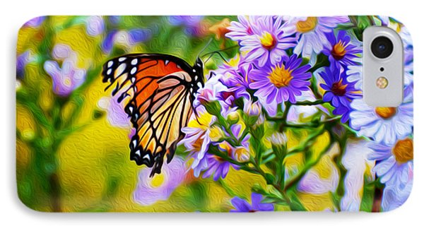 Monarch Butterfly 4 IPhone Case