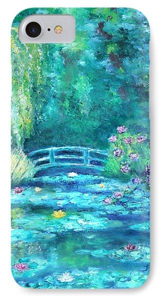 Monet Bridge Dream IPhone Case
