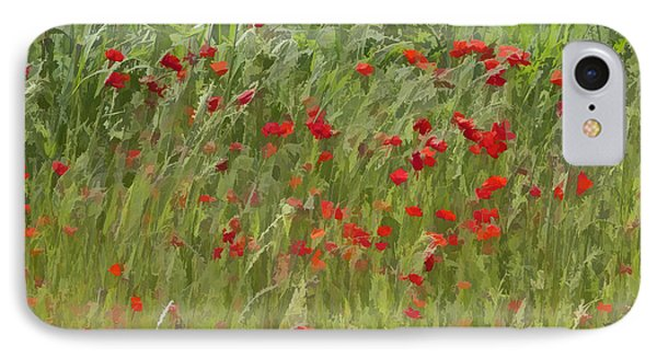 Monet Poppies IIi IPhone Case