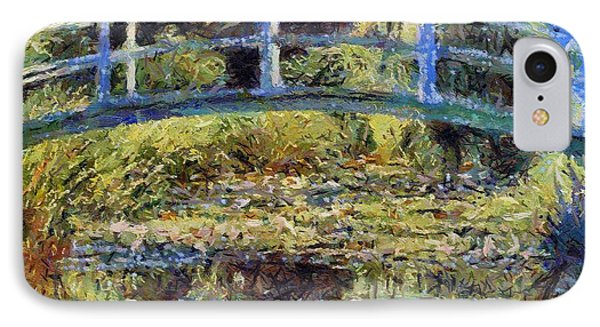 Monet's Bridge IPhone Case