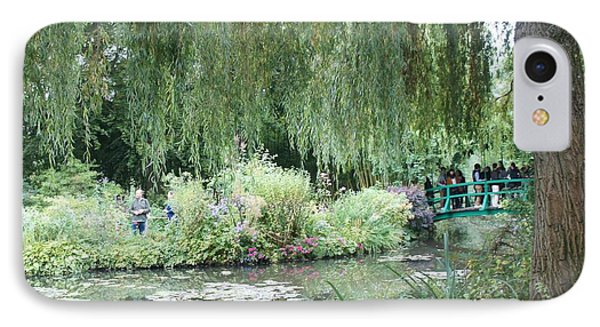 Monet's Japanese Bridge IPhone Case