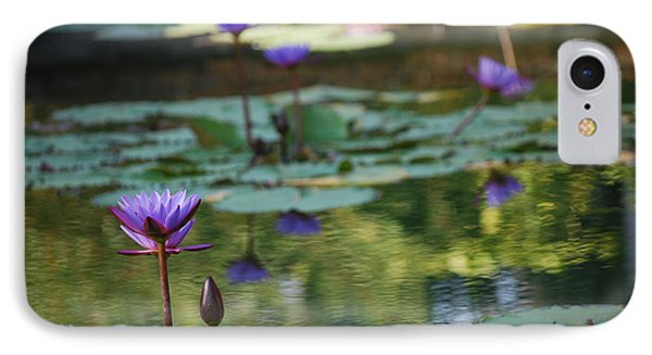 Monet's Waterlily Pond Number Two IPhone Case