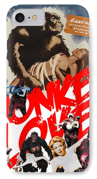 Monkey Love IPhone Case