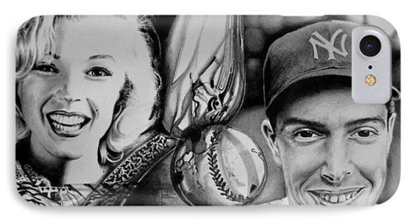 Monroe And Dimaggio IPhone Case