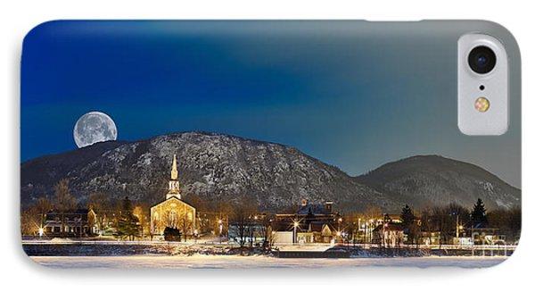 Mont Saint Hilaire Quebec Winter Panorama IPhone Case