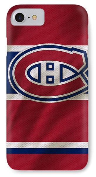 Montreal Canadiens Uniform IPhone Case