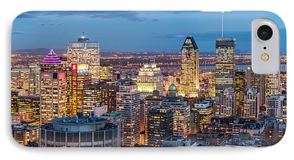 Montreal Panorama IPhone Case