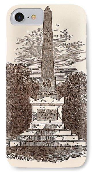 Monument To John Howard, The Philanthropist IPhone Case