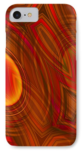 Mood On Fire IPhone Case