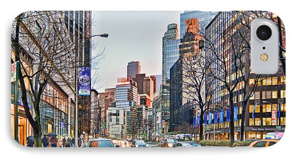 Moody Afternoon In New York City IPhone Case