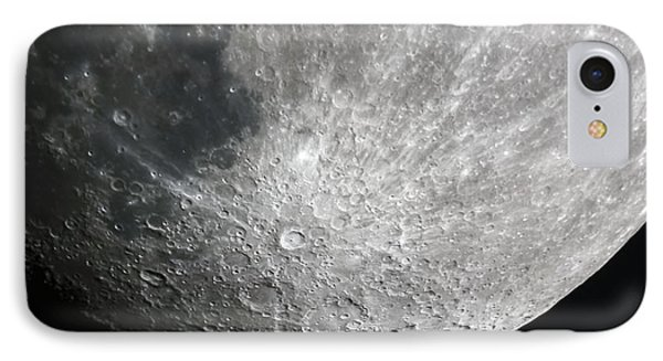 Moon Hi Contrast IPhone Case