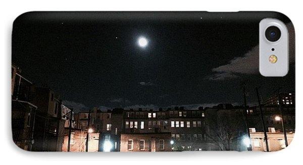 Moon Over Midtown IPhone Case