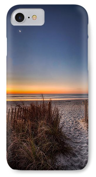 Moon Over Myrtle Beach IPhone Case