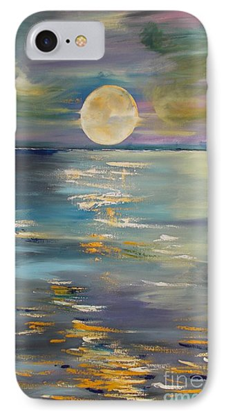 Moon Over Your Town/reflexion IPhone Case