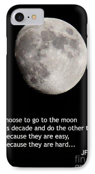 Moon Speech IPhone Case