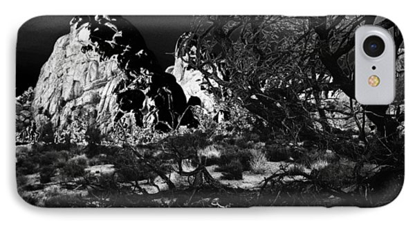Moonlight On Rocks IPhone Case