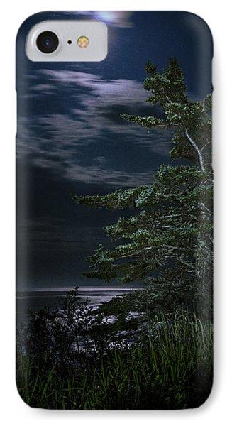 Moonlit Treescape IPhone Case