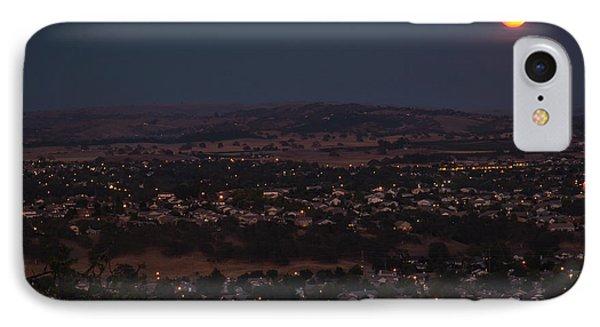 Moonrise Over Paso IPhone Case