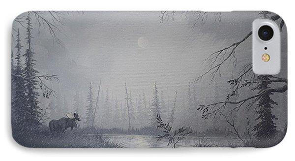 Moose Swanson River Alaska IPhone Case