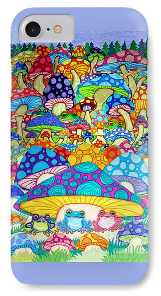 More Frogs Toads And Magic Mushrooms IPhone Case