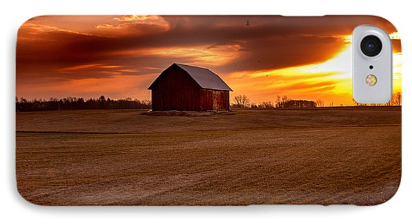 Morning Barn IPhone Case