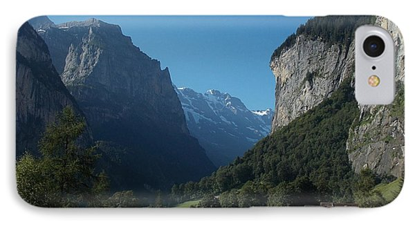 Morning In Lauterbrunnen IPhone Case