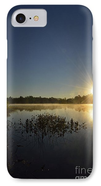 Morning In The North Woods IPhone Case