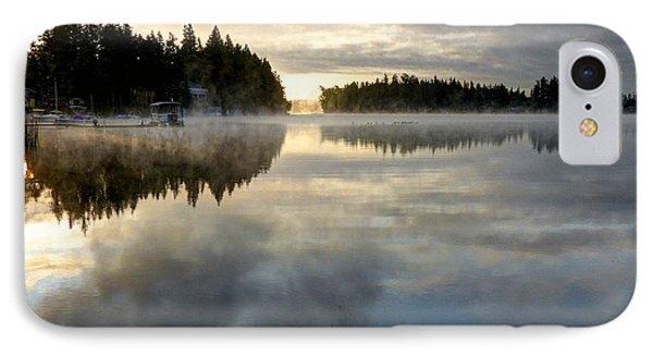 Morning Lake Reflection IPhone Case