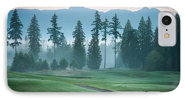 Morning On The Golf Course IPhone Case