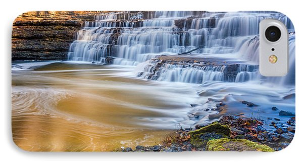 Morning On The Upper Falls IPhone Case