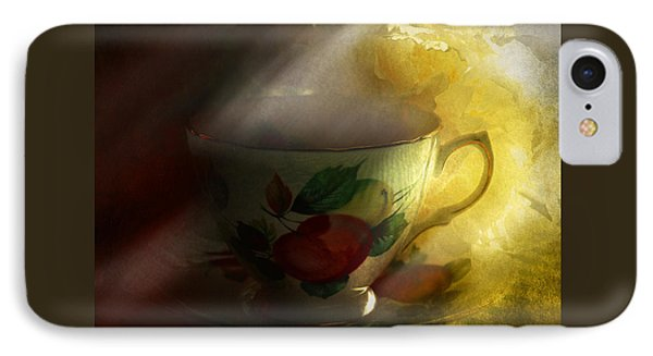 Morning Tea With Peony IPhone Case