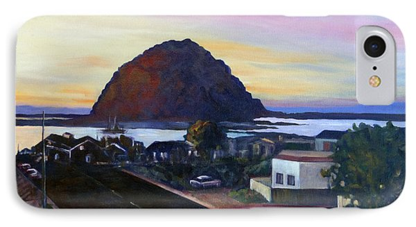 Morro Rock At Night IPhone Case