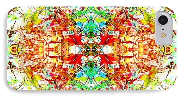Mosaic Of Spring Abstract Art Photo IPhone Case