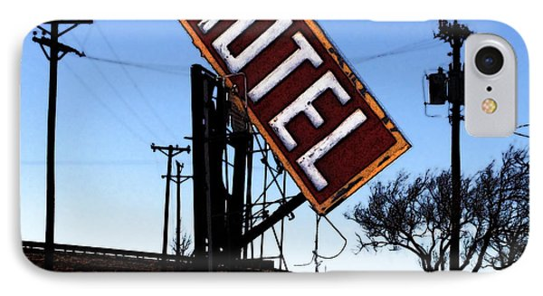 Motel - Route 66 IPhone Case