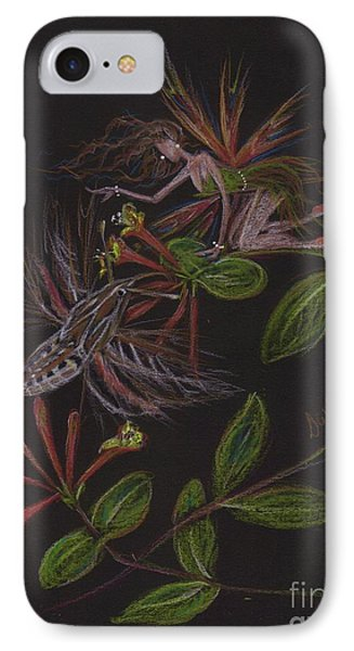 Moth Wing Touch IPhone Case