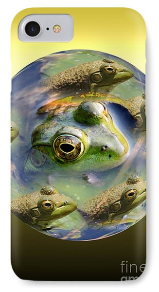 Mother Of All Frogs IPhone Case