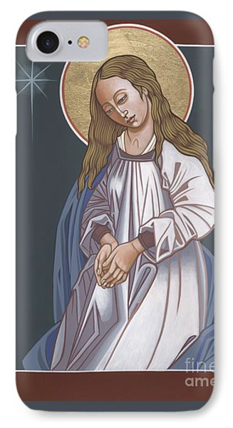 Mother Of God Waiting In Adoration 248 IPhone Case