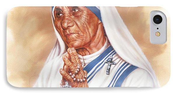 Mother Teresa IPhone Case