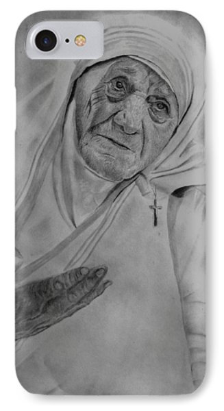 Mother Theresa 2 IPhone Case