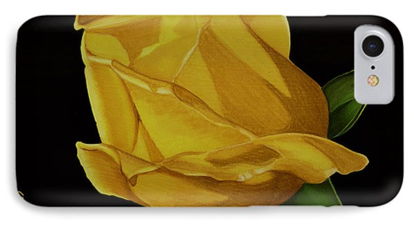Mother's Yellow Rose IPhone Case