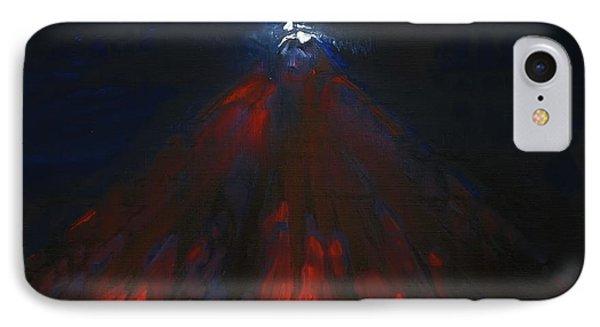 Mount Fuji By Night 2003 IPhone Case