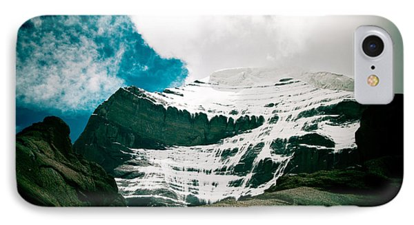 Mount Kailash Western Slope Home Of The Lord Shiva IPhone Case