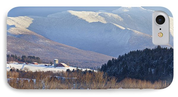 Mount Mansfield Winter IPhone Case