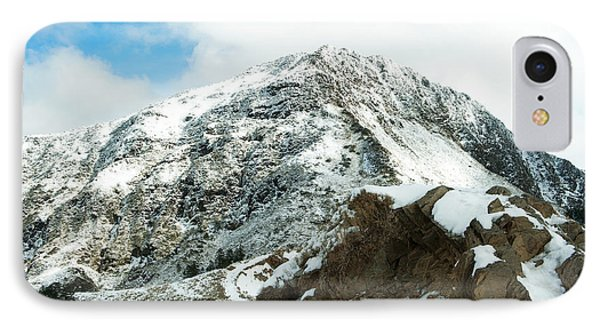 Mountain Covered With Snow IPhone Case